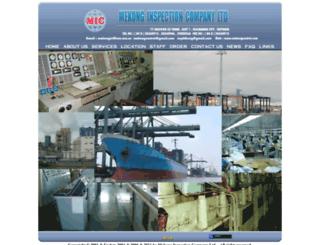 mekongcontrol.com screenshot