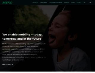 mekonomen.com screenshot