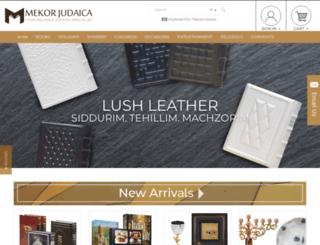 mekorjudaica.com screenshot