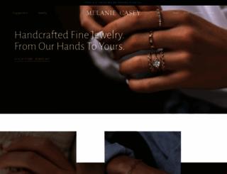 melaniecasey.com screenshot