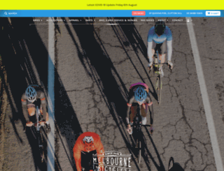 melbournebicyclecentre.com screenshot
