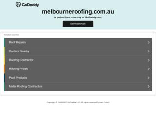 melbourneroofing.com.au screenshot