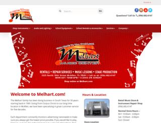 melhart.com screenshot