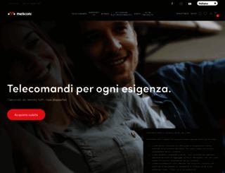 meliconi.com screenshot