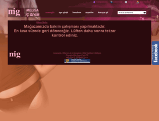 melisaicgiyim.com screenshot