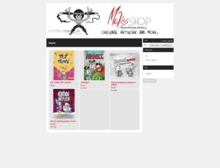 meliss.bigcartel.com screenshot