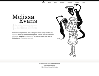 melissaclifton.com screenshot
