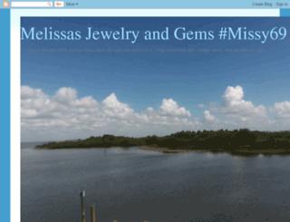 melissasjewelryandgems.blogspot.com screenshot
