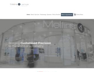 mellins.co.za screenshot