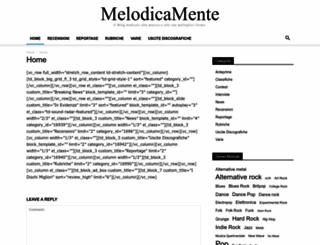 melodicamente.com screenshot