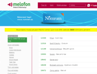 melofon.az screenshot
