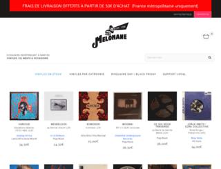 melomane.fr screenshot