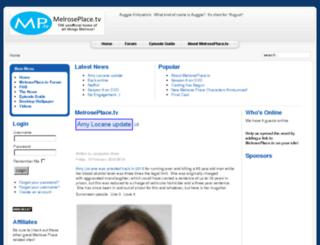 melroseplace.org screenshot