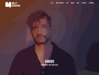 meltbooking.com screenshot