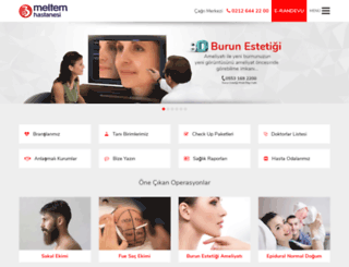 meltemhastanesi.com screenshot