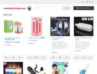 membeli-belah.com screenshot