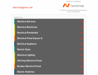 member.electricalgenius.net screenshot