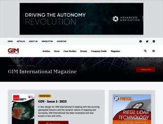 member.gim-international.com screenshot