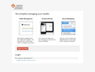 member.louisianahealthconnect.com screenshot