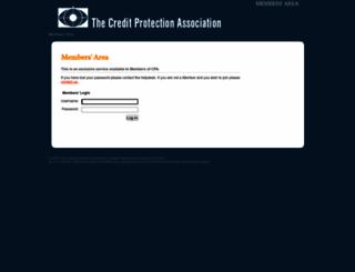 members.cpa.co.uk screenshot