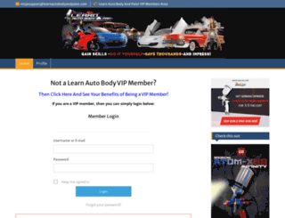 members.learnautobodyandpaint.com screenshot