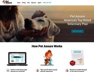 members.petassure.com screenshot