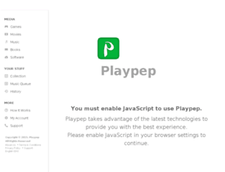 members.playpep.net screenshot