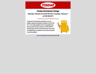 members1.fisdap.net screenshot