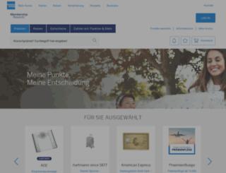 membershiprewards.de screenshot