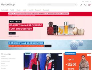 membershop.ee screenshot