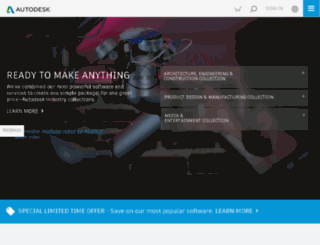 memento.autodesk.com screenshot