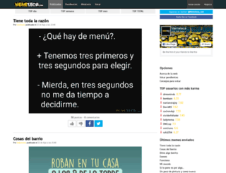 memeteca.com screenshot