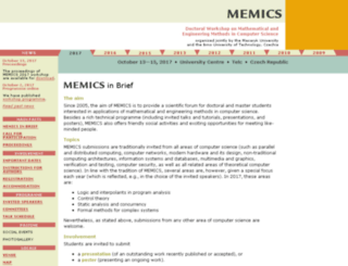 memics.cz screenshot