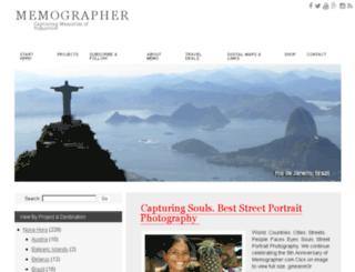 memographer.com screenshot