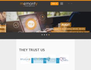 memority.com screenshot