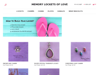 memorylocketsoflove.com screenshot