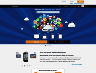 memotoo.com screenshot