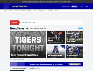 memphis.rivals.com screenshot
