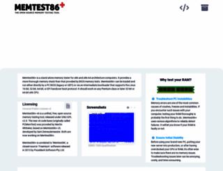 memtest.org screenshot