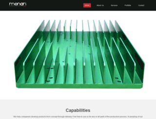 menarilighting.com screenshot