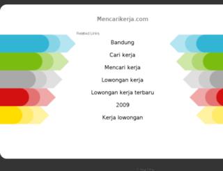 mencarikerja.com screenshot