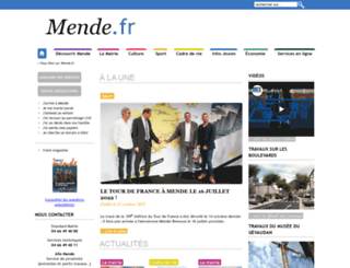mende.fr screenshot