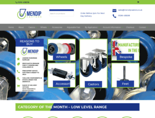 mendipcastors.co.uk screenshot