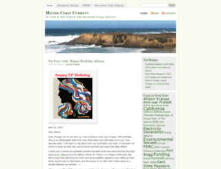 mendocoastcurrent.wordpress.com screenshot
