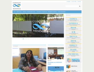 mendoza-conicet.gob.ar screenshot