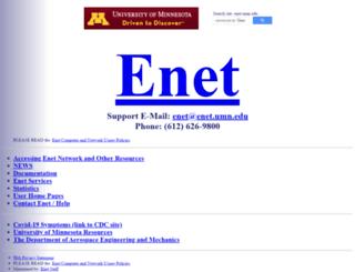 menet.umn.edu screenshot