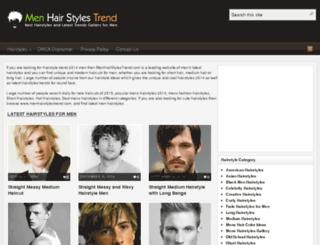 menhairstylestrend.com screenshot