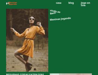 meninasjogando.com.br screenshot