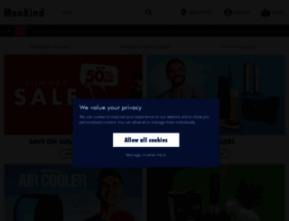 menkind.co.uk screenshot