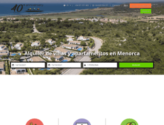 menorcarentals.com screenshot